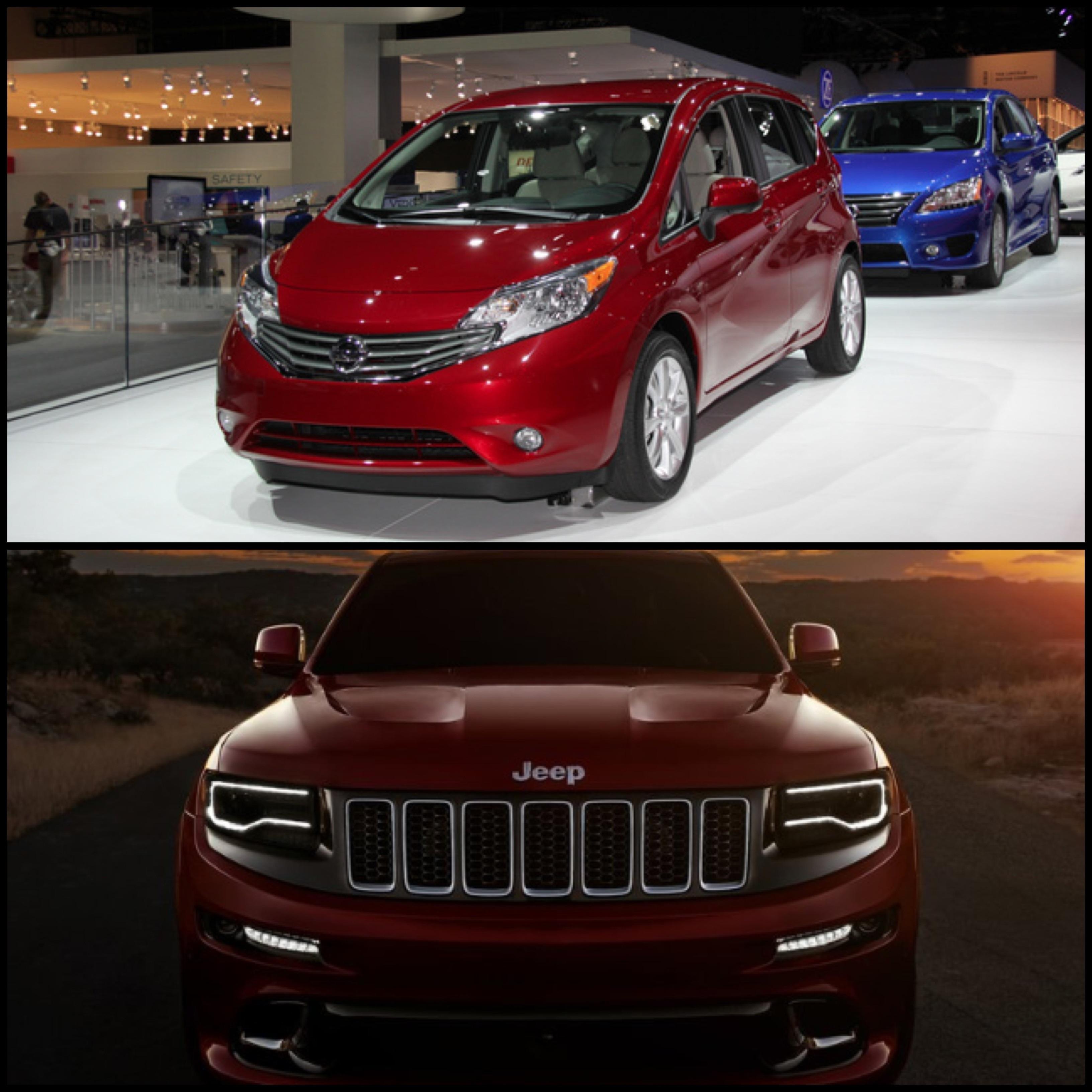 Nissan Versa Note Jeep Gc Srt